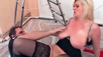 Nipples, Milf lingerie, Mature stocking, Pierced pussy