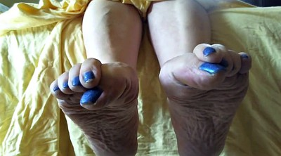 Mature feet, Mature sole