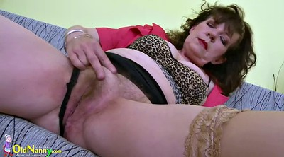 Hairy mature, Granny solo, Hairy masturbation