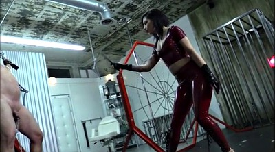 Mistress t, Cbt, Whipping, Femdom whipping, Femdom cbt, Latex mistress