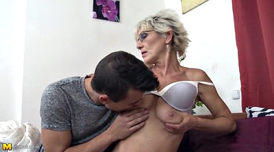 Mom son, Mom seduce, Seduce, Grannies, Young old