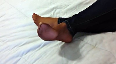 Foot fetish, Nylon foot, Pantyhose tease, Pantyhose foot, Foot tease
