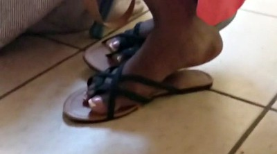 Candid, Feet fetish, Flip flops, Beautiful foot
