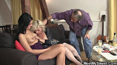 Old and young, Mature milf, Teach, Mom teaches, Mom riding