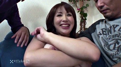 Japanese threesome, Uncensored, Japanese uncensored, Asian student