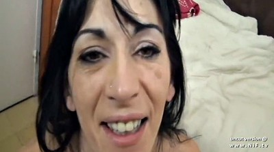 Skinny mature, French mature, Anal pov, Anal french
