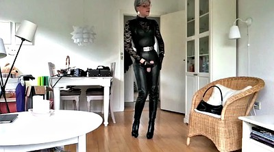 Sissy, Boots, Leather