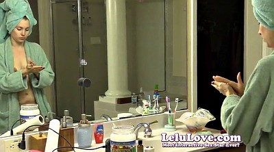 Lelu love, Voyeur shower, Spy shower