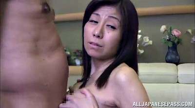 Busty brunette, Asian big tits