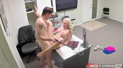 Top, Big cocks, Milf office, Alena croft