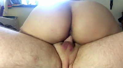 Riding creampie, Bbw ass