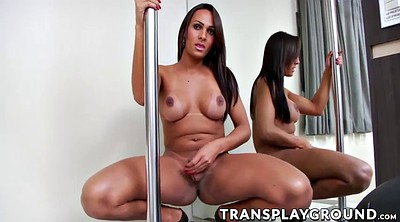 Dance, Dancing, Transsexual, Pole dancing, Big tits dance, Big coc