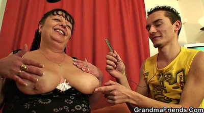Fat, Young wife, Granny boy, Teen boys, Teen boy, Boys