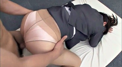 Japanese lady, Lingerie, Japanese office