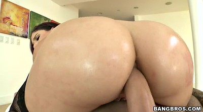 Oiled, Bbw anal