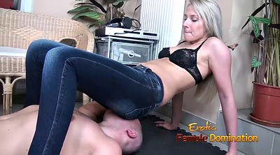 Facesitting, Jeans face sitting, Jeans facesitting, Bra, Femdom facesitting, Beautiful face