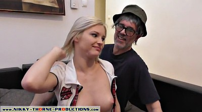 Grandpa, Ass licking, Tina