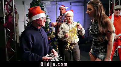Group granny, Old granny, Silicone, Old men, Granny gangbang