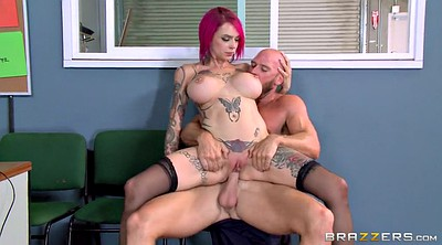 Tattoo, Anna bell peaks, Big tits office