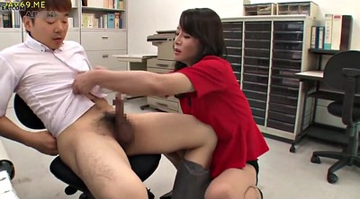 Japanese nylon, Hand job