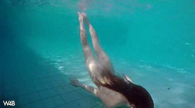 Bikini, Underwater, Swimming