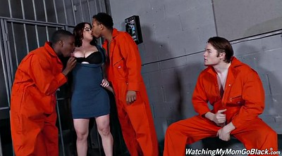 Green, Maggie green, Great, Prisoner, Interracial gangbang, Maggie