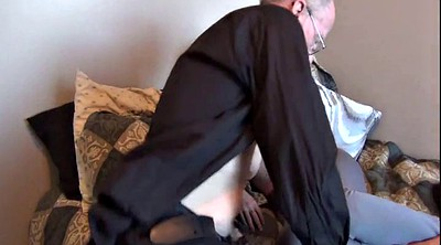 Young wife, Fuck granny