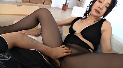 Japanese, Masturbation pantyhose, Masturbation nylon, Asian black, Japanese black, Black japanese