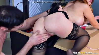 Brazzers, Brazzers anal, Big tits at work