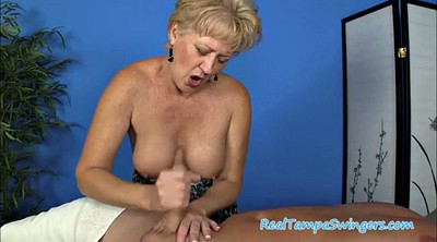 Hand job, Mature swingers