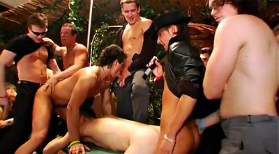 Anal party, Orgy anal