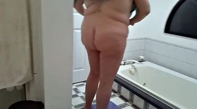 Wife, Belly, Hairy wife, Hairy bbw, Bush, Big belly