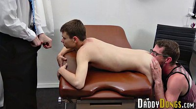 Gay doctor, Stepson, Amateur threesome, Creampie threesome
