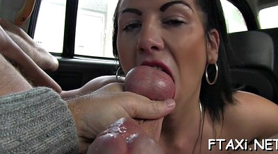 Blowjob, Fake taxi, Car sex