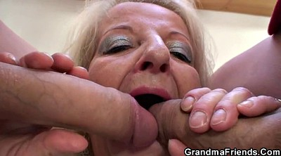 Granny, Grandmother, Mature young, Party fuck
