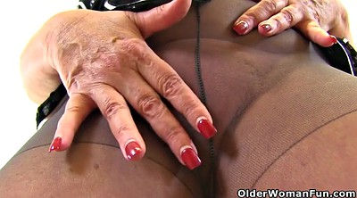 Matures, Mood, Mature toy, Granny nylon
