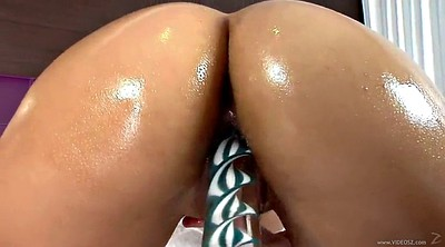 Big tit, Oil ass, Brunette, Haire