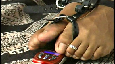 Bdsm, Phone, Toes, Bound