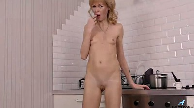 Blond, Mature small tits, Mature mommy