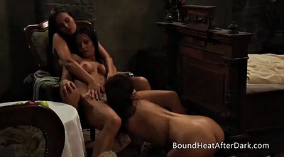 Lesbian massage, Mistress t, Strap on