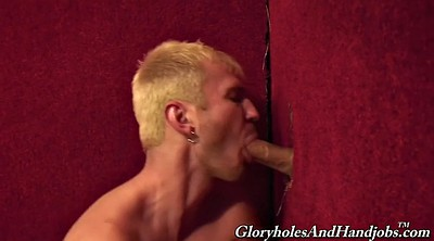 Gloryhole, Handsome, Big hole, Large cock, Glory hole gay