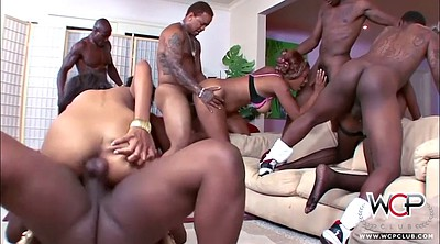 Fishnet, Group sex orgy, Violate, Violation