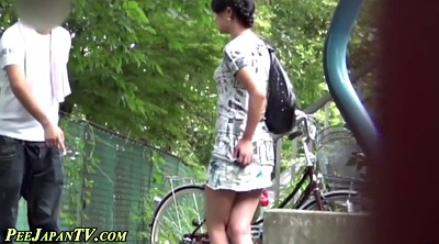 Piss, Japanese pissing, Skirt, Japanese voyeur