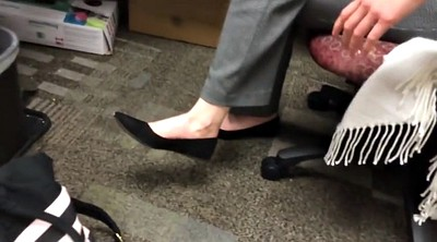 Candid, Shoeplay, Flat, Foot feet, Candid feet