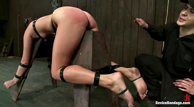 Bound, Spanked hard