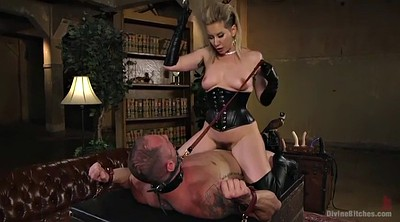 Leather, Mature hairy, Mature orgasm, Femdom boots