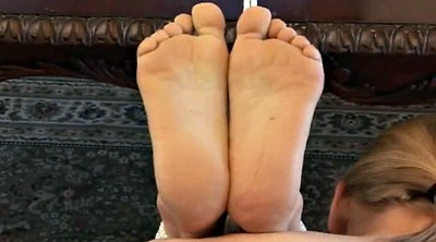 Bound, Under table, Under the table, Foot bondage