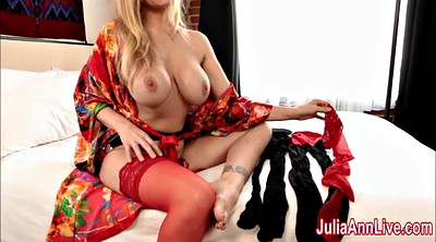Julia ann, Milfs, Stocking feet, Anne