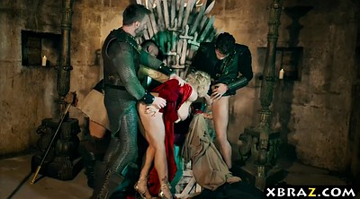 Anal gangbang, Parody, Gaming, Game of thrones, G-queen