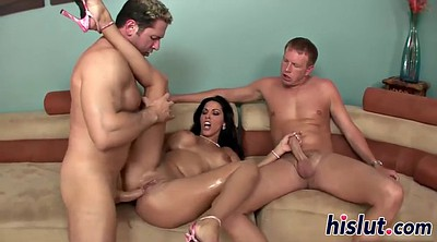 Veronica, Threesome anal